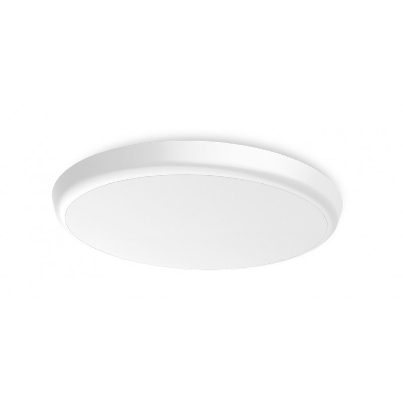 SML LED UFO Anbauleuchte rund DM300 25W 3000K Weiss IP54