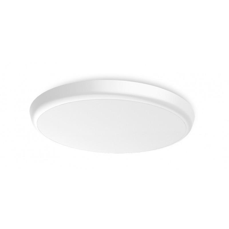 SML LED UFO Anbauleuchte rund DM300 25W 3000-5700K Weiss IP54 Lichtfarbe einstellbar an der Leuchte