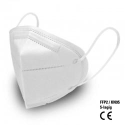 FFP2 KN95 CE Nasen-Mund-Schutzmaske