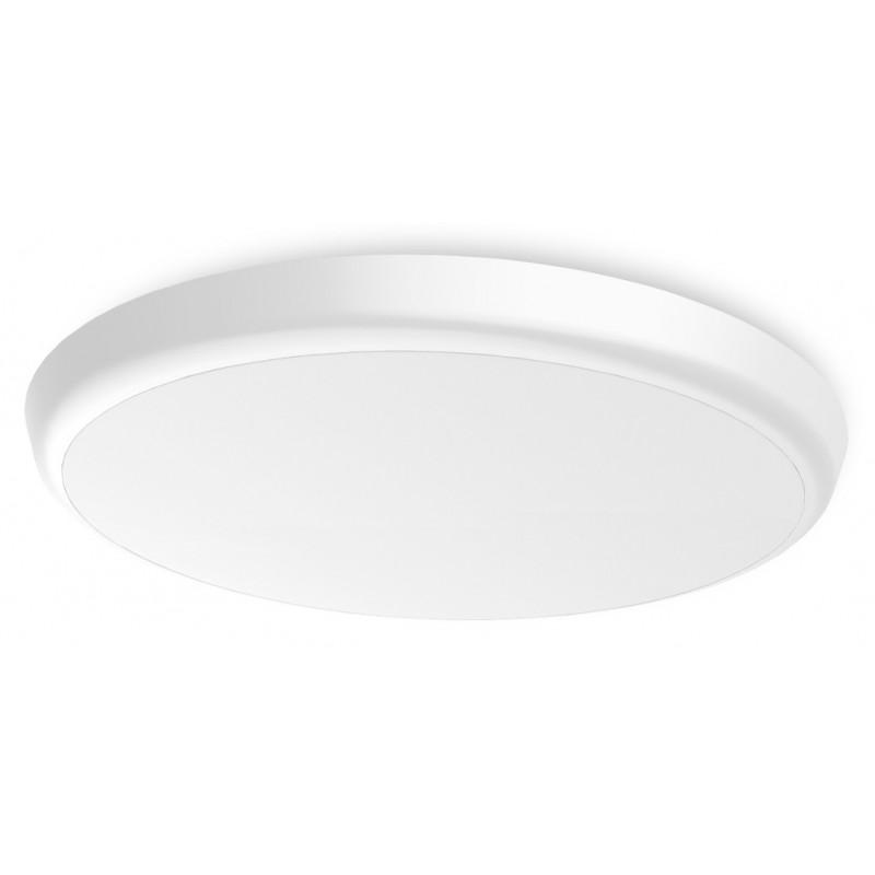 SML LED UFO Anbauleuchte rund DM400 30W 3000-5700K Weiss IP54 Lichtfarbe einstellbar an der Leuchte