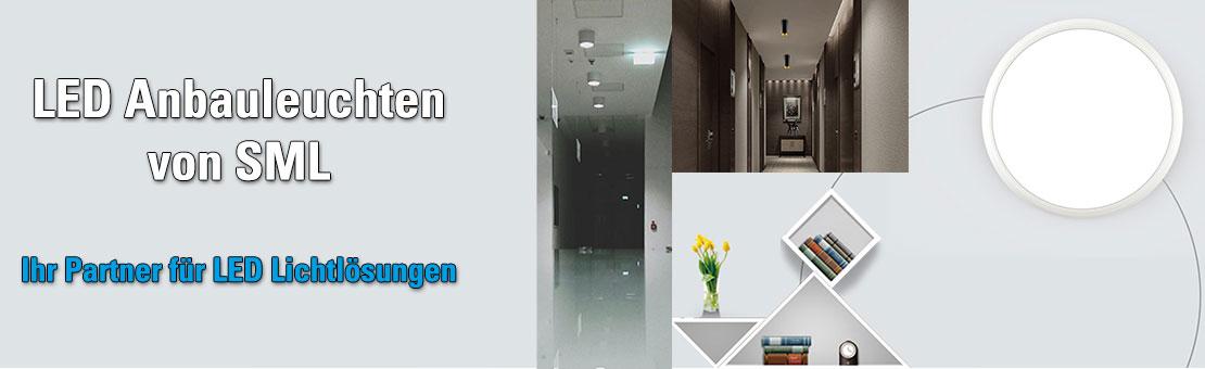 SML LED Anbauleuchten für Wohnzimmer Gänge und Wohnhausanlagen