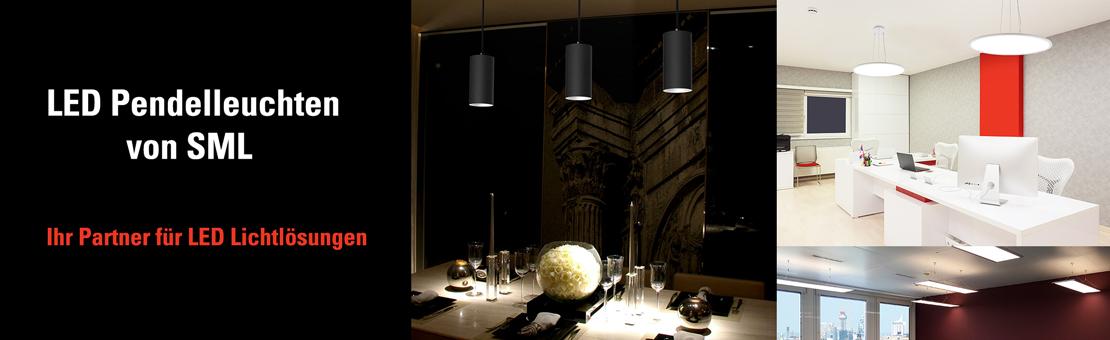 SML LED Pendelleuchten von smart mit led gmbh